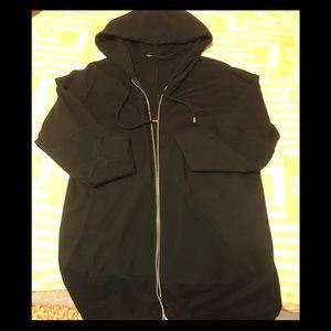 Zara front zip hoodie